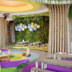 interior design of kids playroom