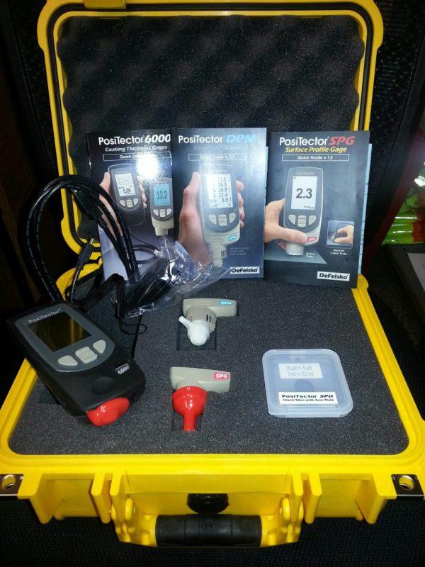 Defelsko Coating Inspection Kit With 1400 Pelican Case