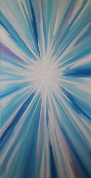 Dreamscapes: Dimensional Doorway II Oil on Canvas Traded