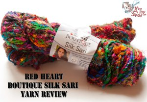 Red Hear Boutique Silk Sari Yarn review