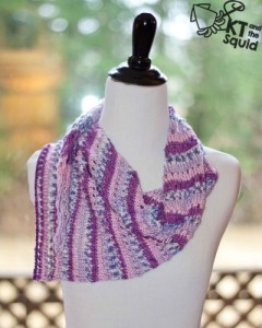 Doty Shawl free knit pattern