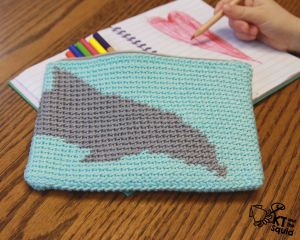 Dolphin Pencil Case