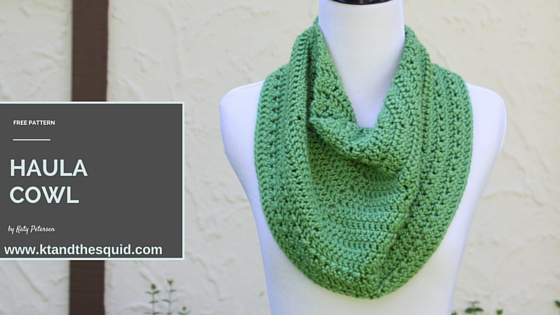 Haula Cowl Free Crochet Pattern | KT and the Squid
