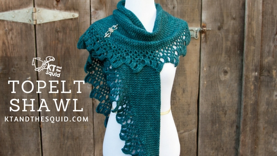 Topelt Shawl Crochet Pattern | KT and the Squid