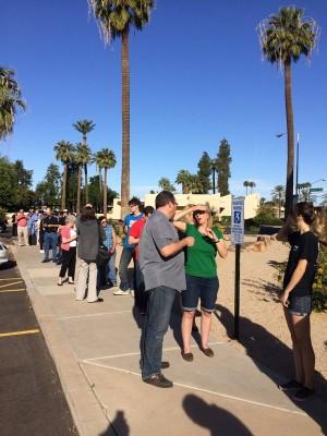 Arizona presidential preference election vs primary What