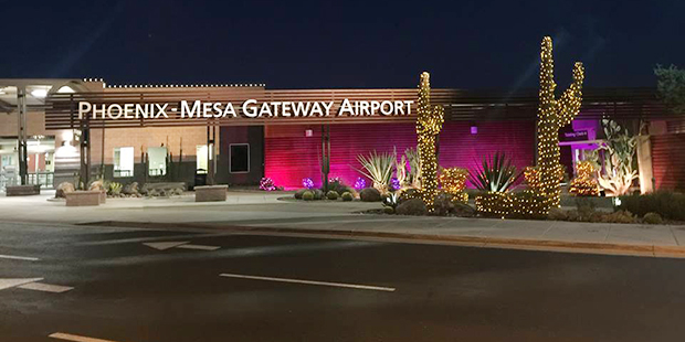 PhoenixMesa Gateway Airport reports highest number of