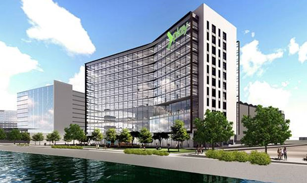Office building with waterfront views planned for Tempe