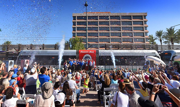 Valley Metro to open 2 more miles of light rail in Mesa on Saturday