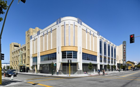 Alameda Cineplex Parking Structure