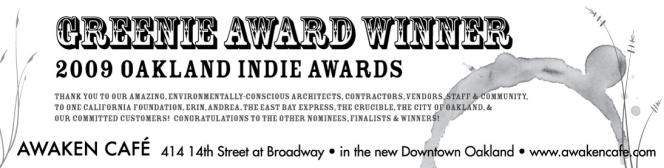 Awaken Cafe - Award