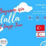 KKTC'de Bisikletlerle 30 Ağustos Zafer Bayramı Kutlaması