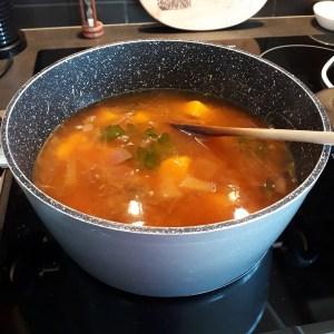 making Writer's Soup