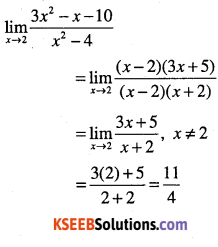 1st PUC Maths Question Bank Chapter 13 Limits and