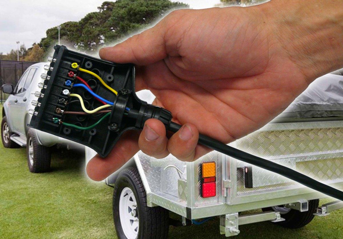 Trailer Plug Wiring 7 Pin Flat