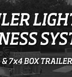 have you ever wanted to wire up your trailer lights without a hassle kt s click n tow trailer light wiring harness is the solution for you  [ 7087 x 1940 Pixel ]