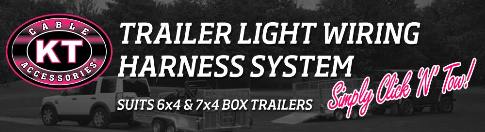 medium resolution of have you ever wanted to wire up your trailer lights without a hassle kt s click n tow trailer light wiring harness is the solution for you