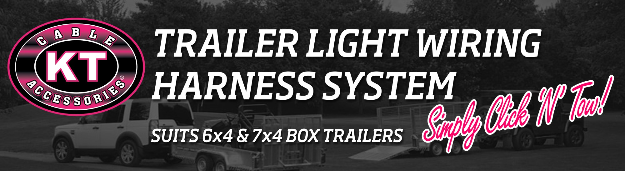 hight resolution of have you ever wanted to wire up your trailer lights without a hassle kt s click n tow trailer light wiring harness is the solution for you