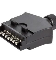 kt744 7 pin flat trailer socket [ 2424 x 1754 Pixel ]