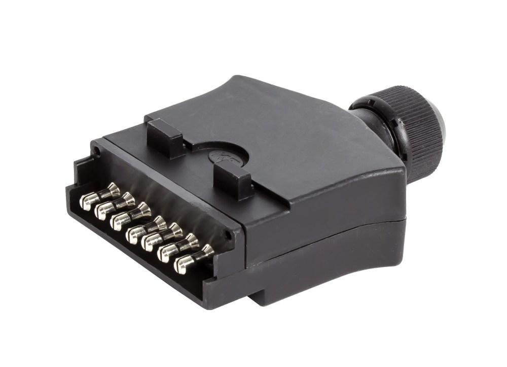 medium resolution of kt744 7 pin flat trailer socket