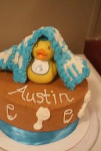 Baby Austin's First Cake