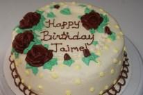 Roses All Over- Birthday Cake
