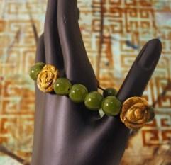 Green Gardens bracelet