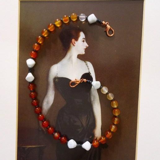 Ice and Fire prayer bead set - $25