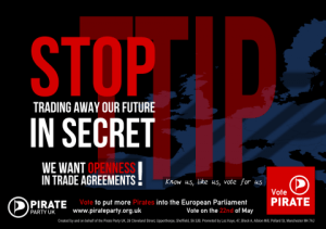 Stop trading away our future in secret - PPUK poster