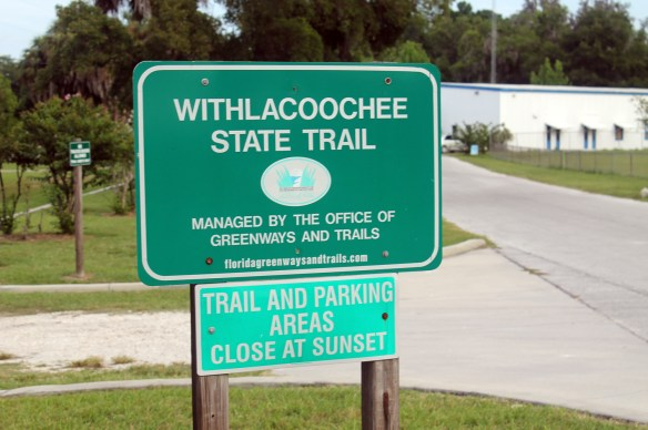 Withlacoochee State Trail Sign