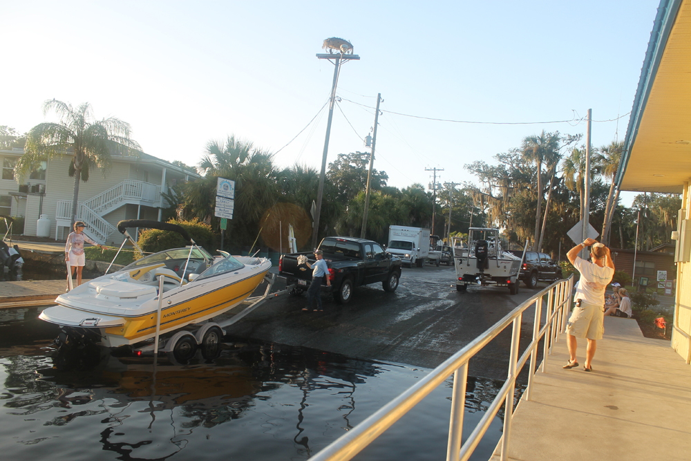 County Boat Ramp in Old Homosassa
