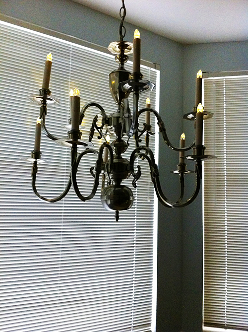 Adventures with Michelle, DIY Chandelier