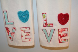 DIY Tea Towels, Moda