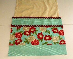 DIY Tea Towels, Moda fabrics
