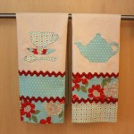 DIY Tea Towels, Moda fabric