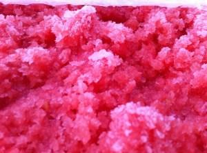 Limoncello Scented Watermelon Granita, step 2