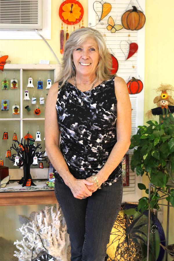 Debra Hawthorne, artist and owner of GlassWerx