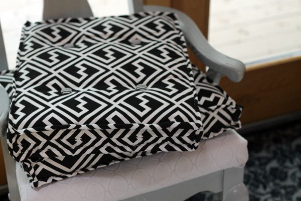 DIY French Cushions, cushions