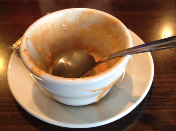 Tomato Basil Soup at Skeets