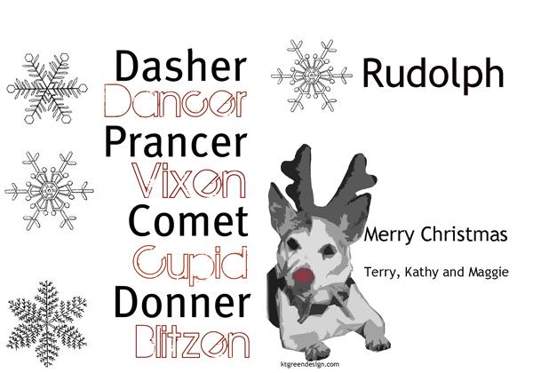 2011 Maggie Christmas Card