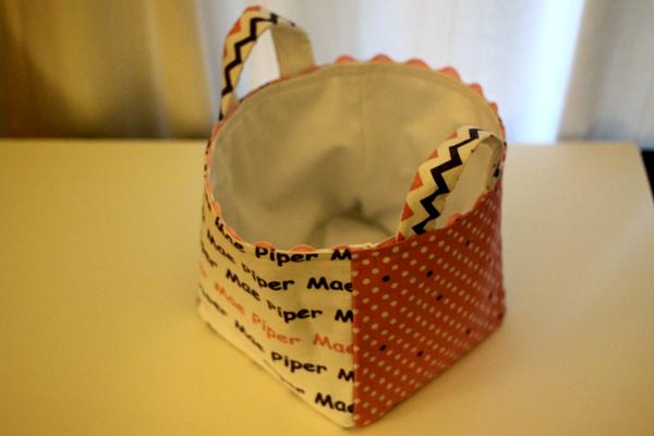 DIY Fabric Box for Piper