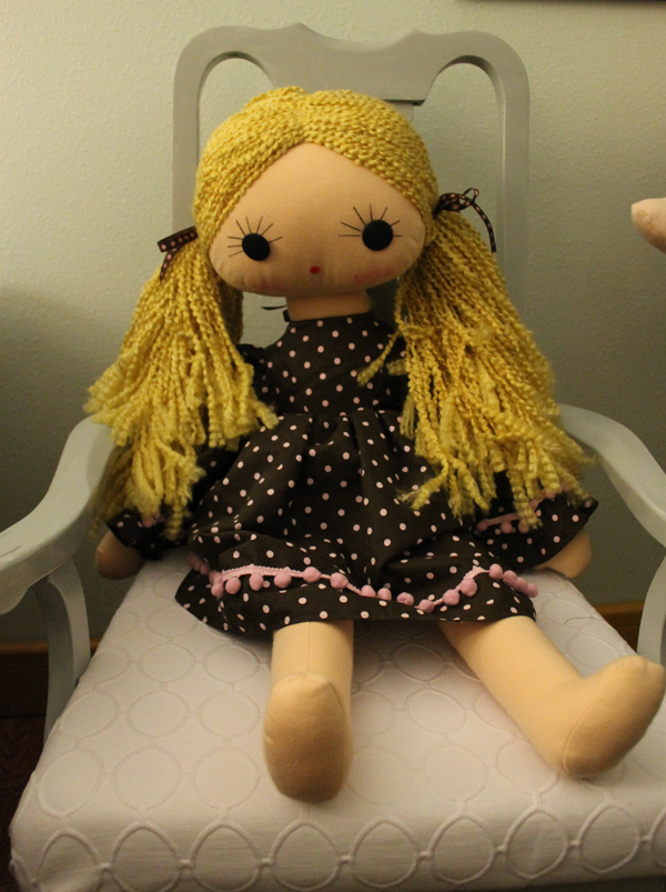 Courtney's Doll for 2012