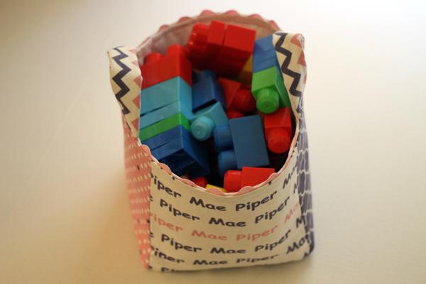 Megablocks in Fabric Box
