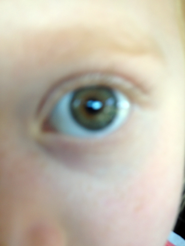 Eye on my iPhone