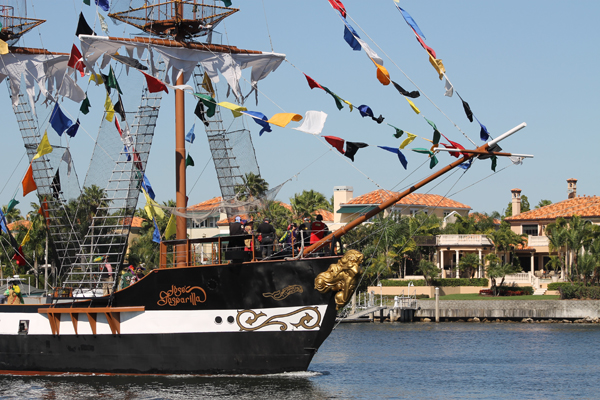 Jose Gasparilla Pirate Ship