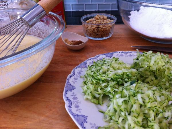 Step 2, Michelle's Yogurt-Zucchini Bread : Gluten-Free