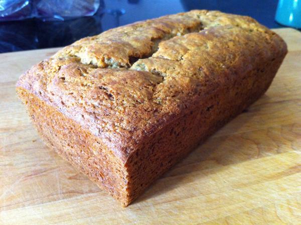 Step 6, Michelle's Yogurt-Zucchini Bread : Gluten-Free