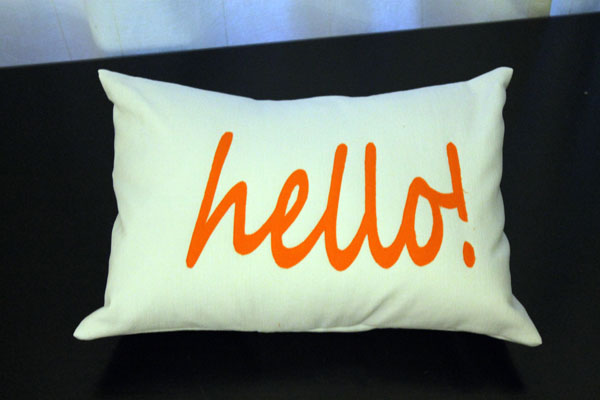 Hello! Pillow
