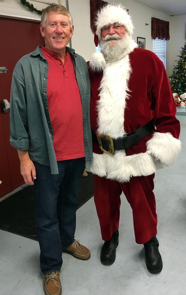 terry and Santa