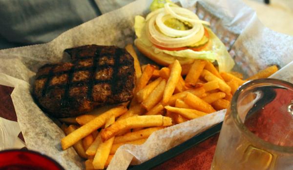 Shamrock Burger at Shamrock Inn in Floral City