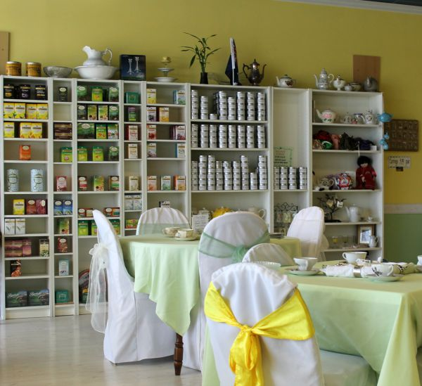 Out and About: Magnolia Terrace Tea Room